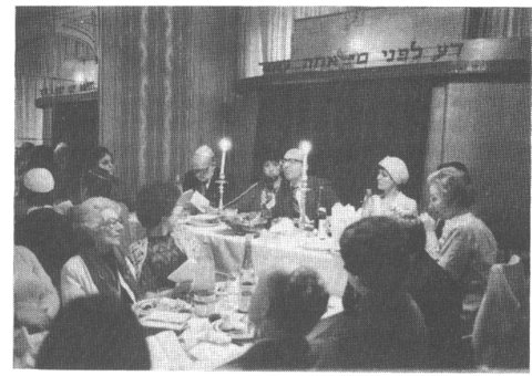 Seder de Pessah, avenue Albert